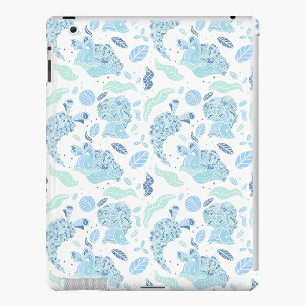 Elysia Crispata Lettuce Sea Slug Pattern - Icy Winter iPad Snap Case
