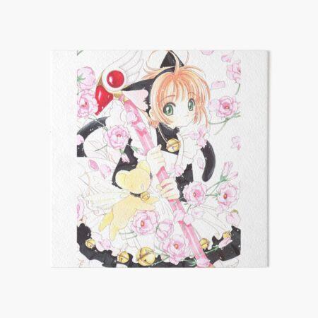 cardcaptor sakura lovely cat Art Board Print