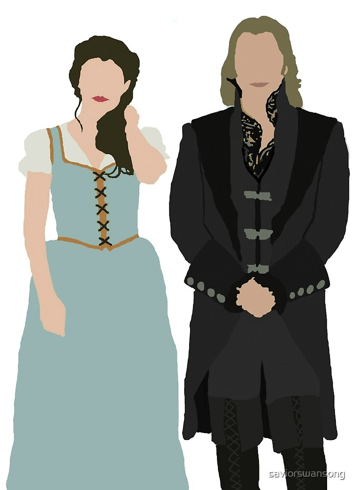 Once Upon A Time Rumbelle  by saviorswansong