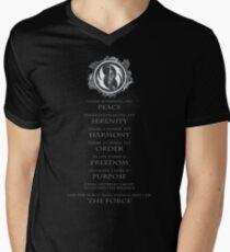 Gray Jedi Gray Lettering  T-Shirt
