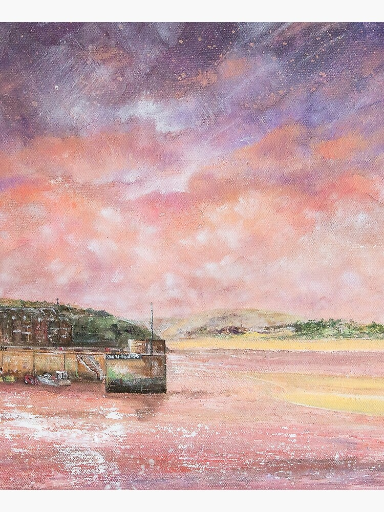 Padstow Harbour, North Cornwall Art by handonart-com
