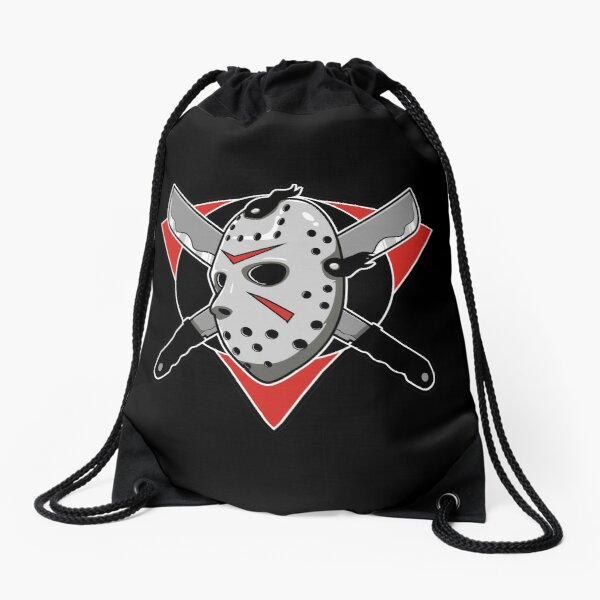 Jason Voorhees / Friday the 13 th / Best Horror Movies  / Halloween Drawstring Bag