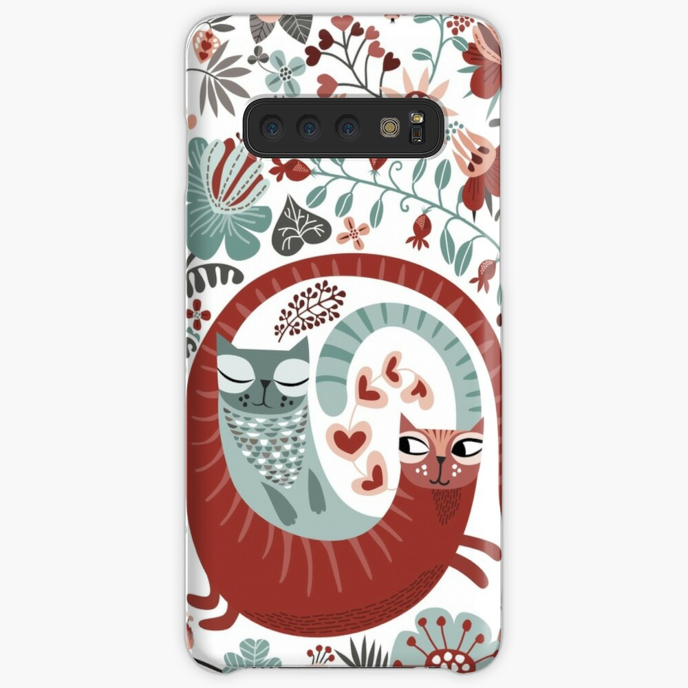 Love cats Case & Skin for Samsung Galaxy