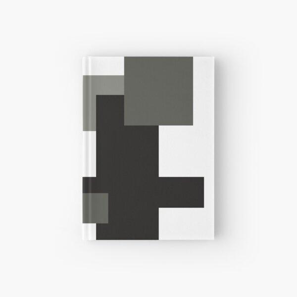 Monochrome Minimalism Digital Design Hardcover Journal