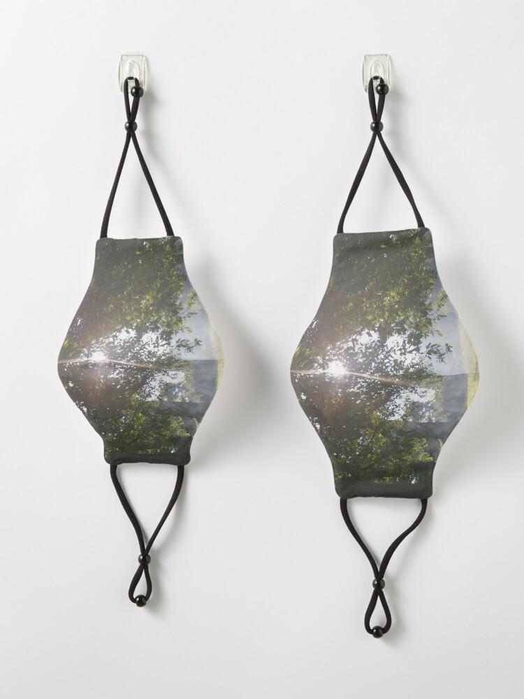 Alternate view of M.I. #11 |☼| Smoky Tree Sun Rays - Landscape Shot (Pearson Park) Mask