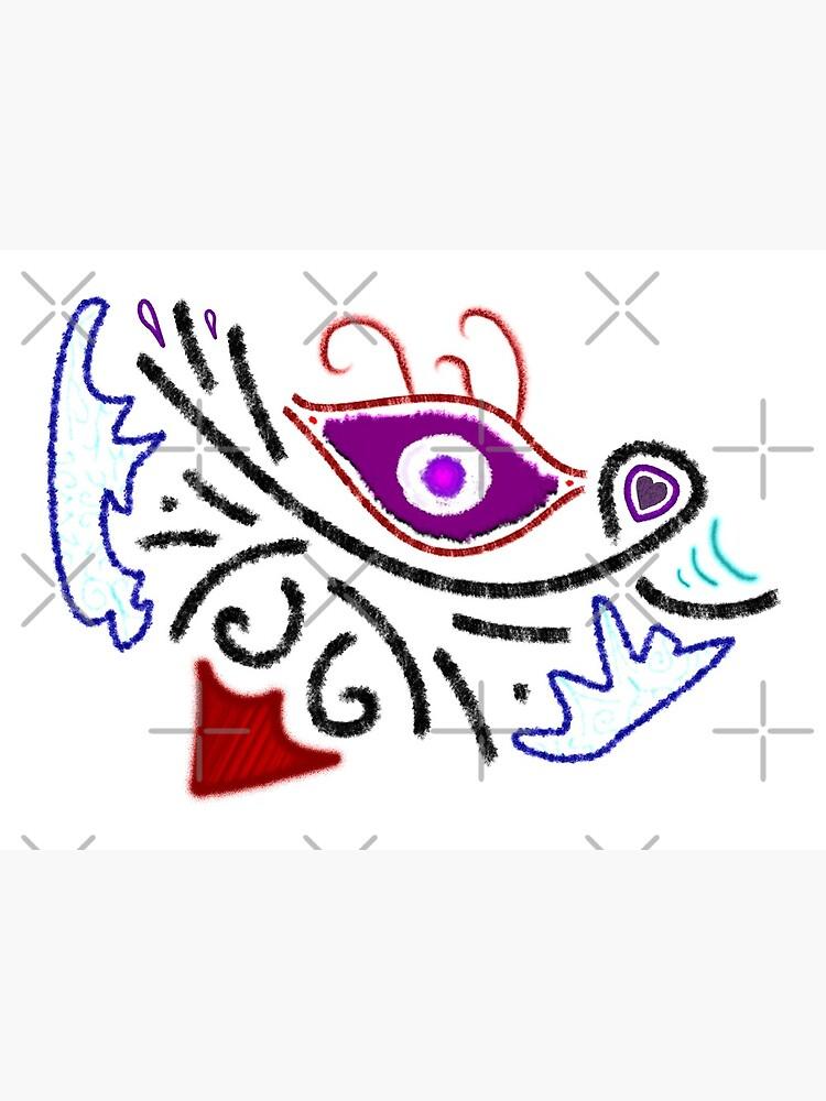 M.I. #1 |☼| Rustic Tribal Cyclops Insignia by Naean