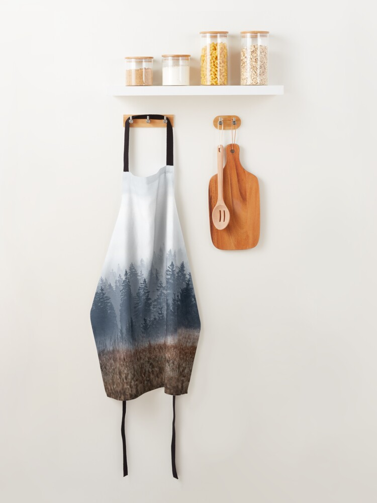 Alternate view of Lost In Fog Apron