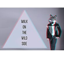 Walk on the Wild Side Photographic Print