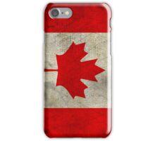 Vintage Canada Flag iPhone Case/Skin