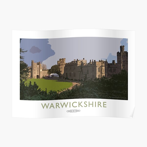 Warwickshire Poster