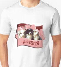 Australian Shepherd puppies T-Shirt