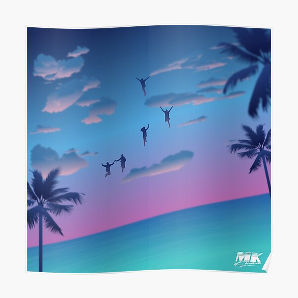 Remember The Sunsets Poster