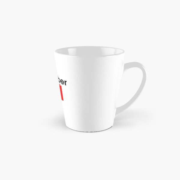 BookTuber (red) Tall Mug