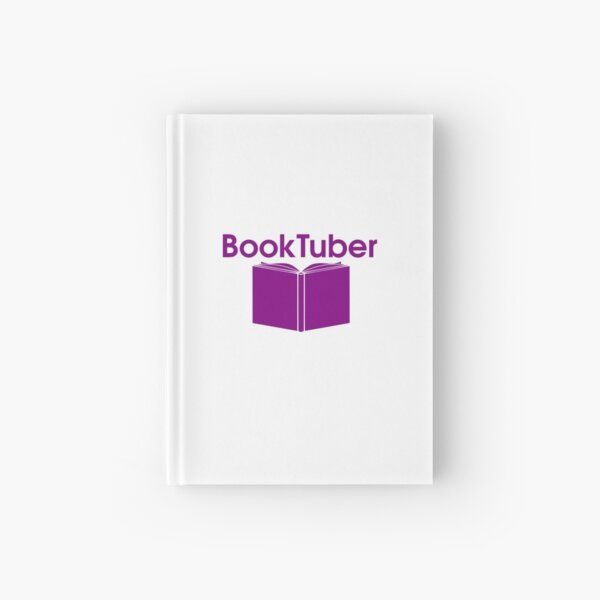BookTuber (purple) Hardcover Journal