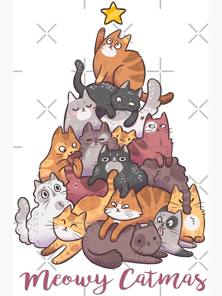 Meowy Catmas by kattvalk