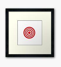 target Framed Print