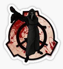 SCP 049 Sticker