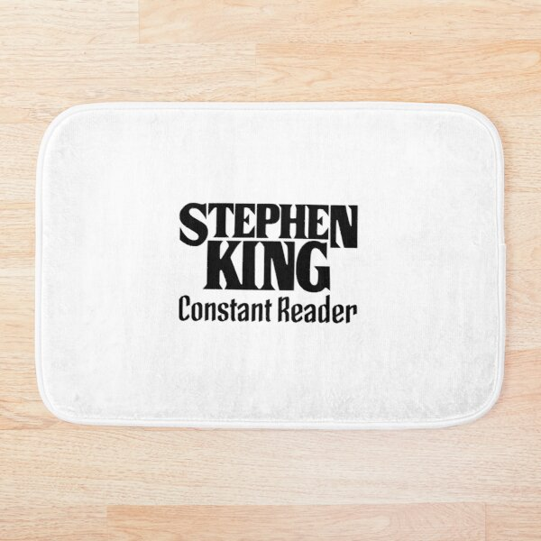 Book - Stephen King Constant Reader (text only) Bath Mat