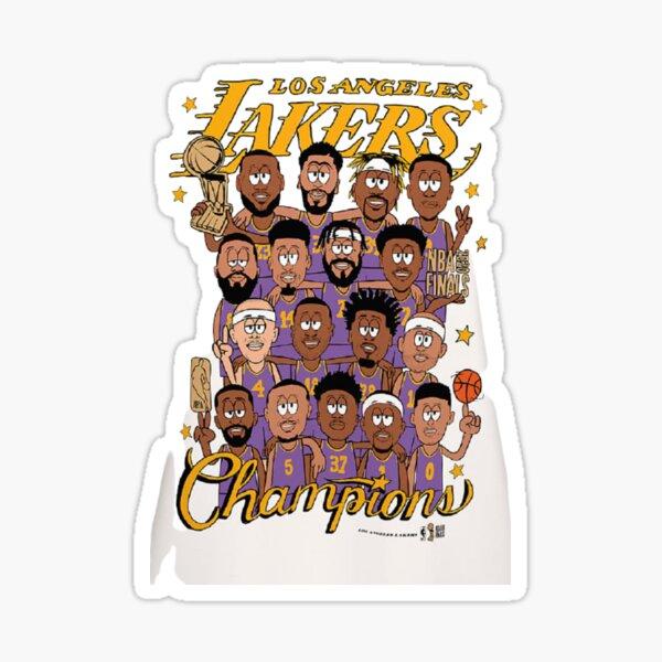 Lakers champions nba 2020 Sticker