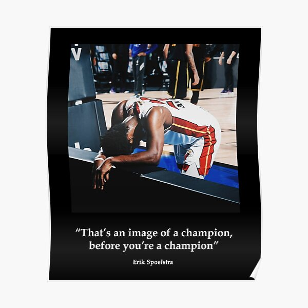 Jimmy Butler motivation quote Poster