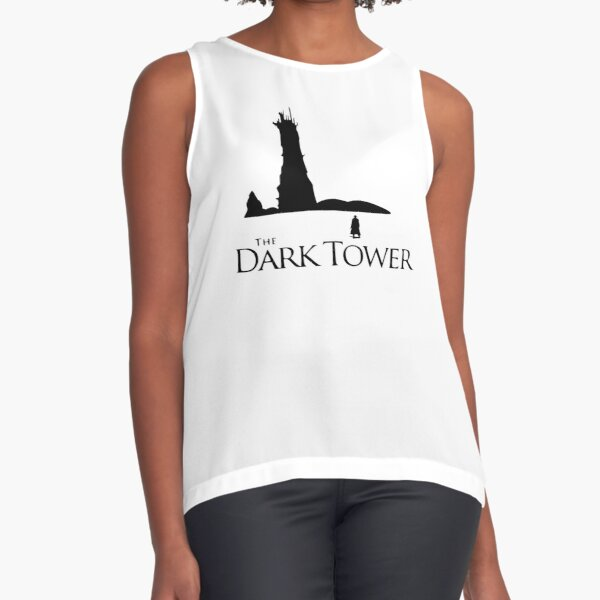 Book - Stephen King The Dark Tower with Roland Sleeveless Top