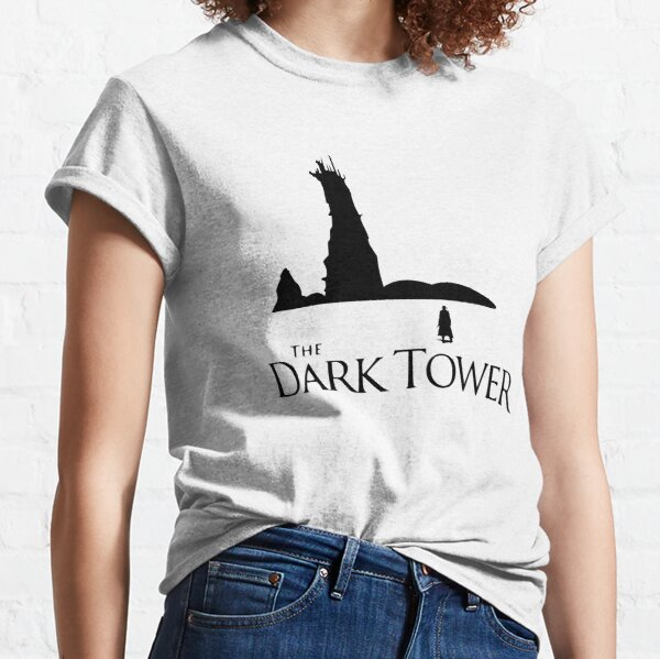 Book - Stephen King The Dark Tower with Roland Classic T-Shirt
