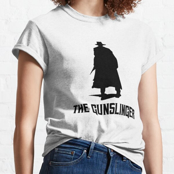 Book - Stephen King The Dark Tower The Gunslinger Roland Classic T-Shirt