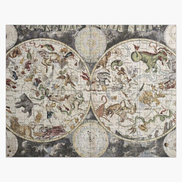 Vintage Celestial Star map Jigsaw Puzzle