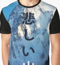 Sad mountain Graphic T-Shirt
