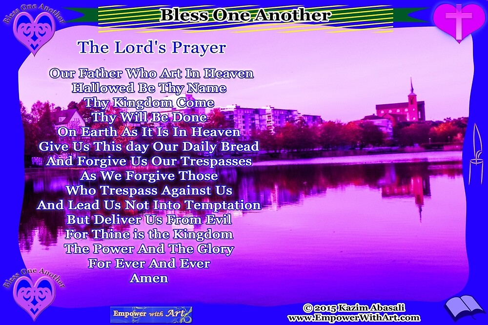 The Lord's Prayer by empowerwithart