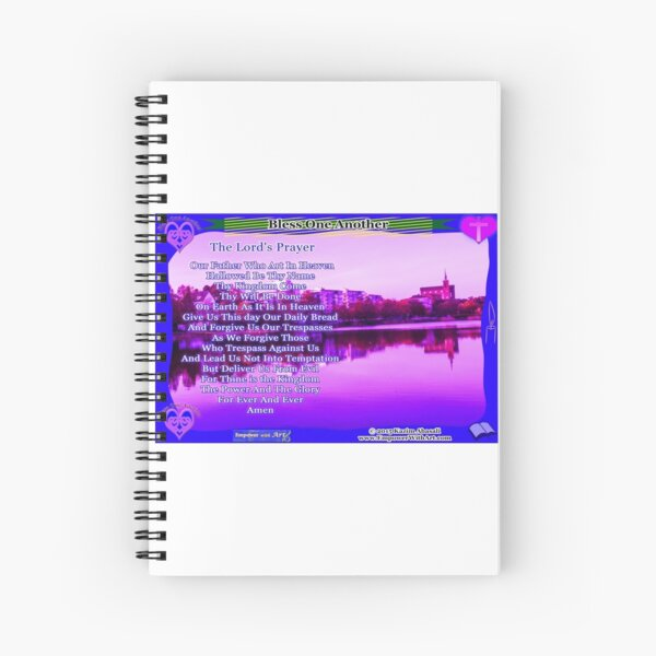 The Lord's Prayer Spiral Notebook