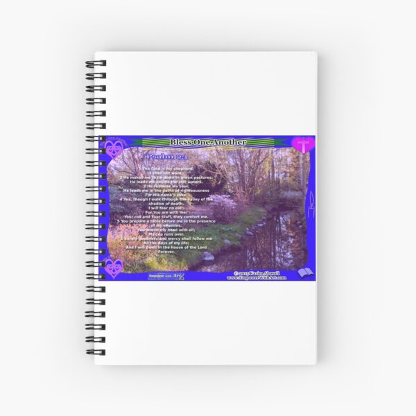 23RD PSALM Spiral Notebook