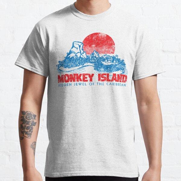 Île aux singes T-shirt classique