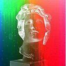 Rainbow bust by GroatsworthTees