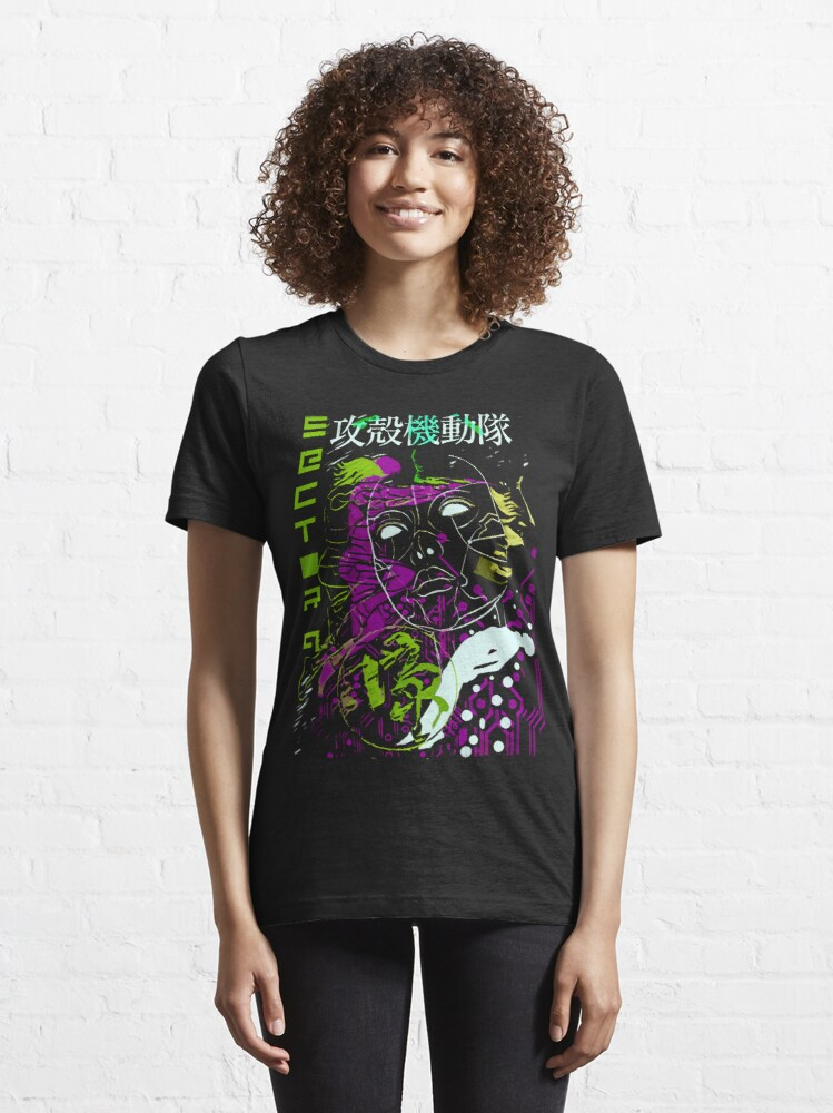 Alternate view of Ghost in the Shell Essential T-Shirt