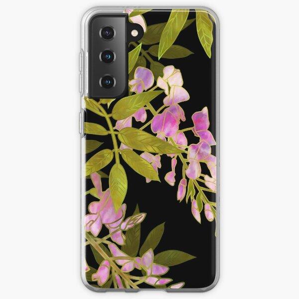 Pink Wisteria Blossom Samsung Galaxy Soft Case