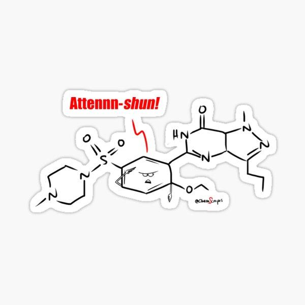 ChemScrapes Viagra Call to Attention Sticker