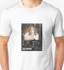 Cait Brennan - Debutante Distressed Retrotastic 8-Track Label Tee! Unisex T-Shirt