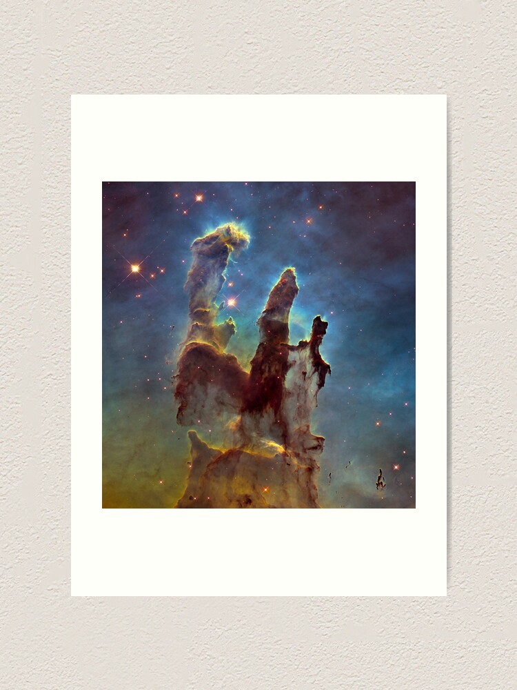 Alternate view of The Pillars of Creation Art Print