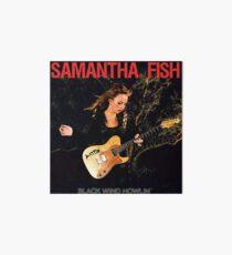 samantha fish Art Board