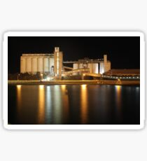 Wallaroo Silo's at Night Sticker