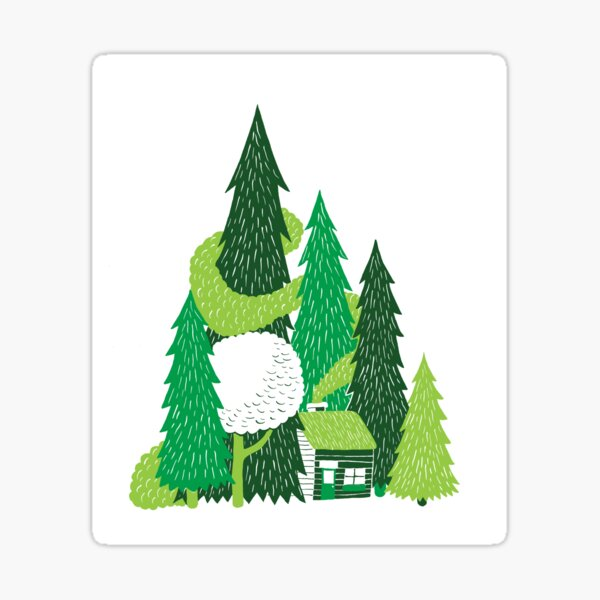 Forestry  Sticker