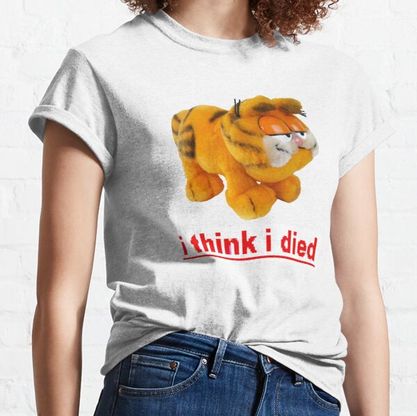 Garfield thinks hes dead Classic T-Shirt