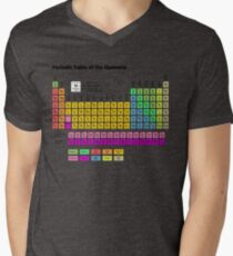 Periodic Table of the Elements Men's V-Neck T-Shirt