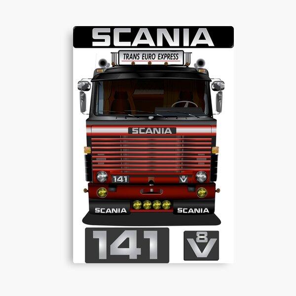 Camion Scania 141 V8 Euro Impression sur toile