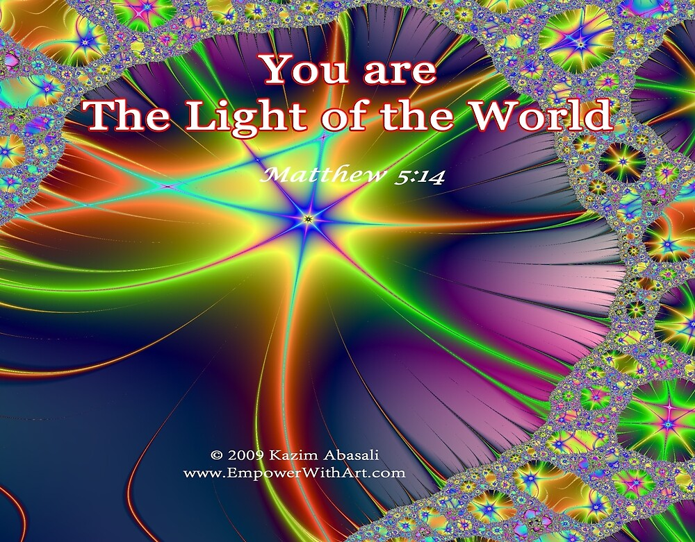 The Light Of The World by empowerwithart