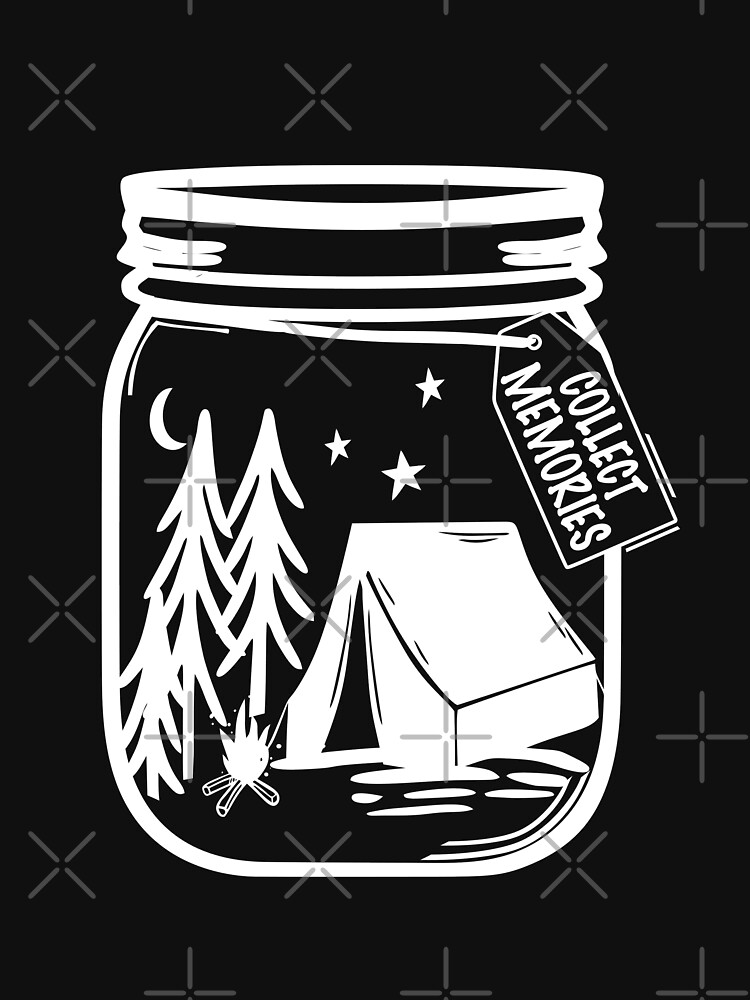 Jar Of Camping Collected Memories Tent Outdoor by NextLVLShirts