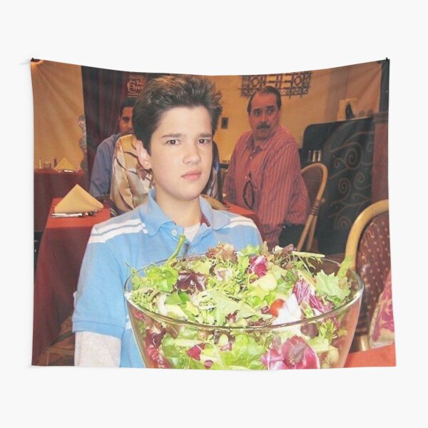 freddie benson with a salad Tapestry