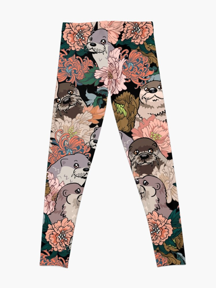 Alternate view of Because Otter Leggings