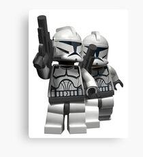 Clonetrooper lego Canvas Print